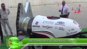 Yerli Elektrostatik İlaçlama Makinesi Tanıtıldı